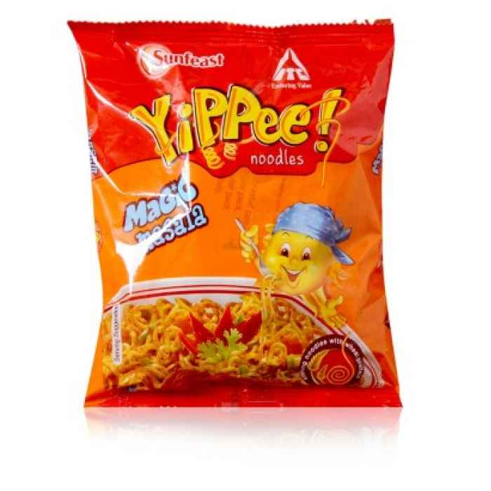 Noodles Sunfeast Yippee Noodles Magic Masala 140gm Noodles