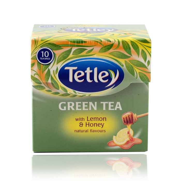 Tea Tetley Green Tea Lemon Amp Honey 10 Bags Buy Online In